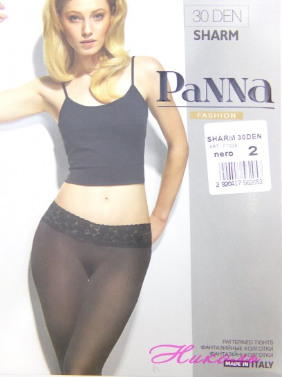 Колготки Panna Sharm P1039 30 den black р.2