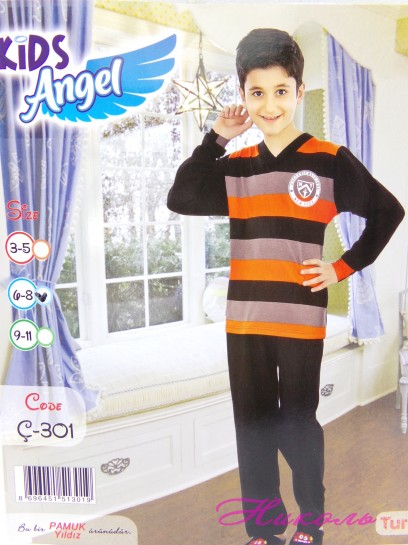 Комплект мальчик Kids Angel C-301 (хлопок) штаны, Турция 3/5, 4/8, 9/11